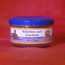 Rillettes d'Anchois et Piment d'Espelette 140 g