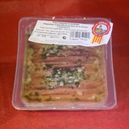 Filets d'anchois en Persillade 150 g net total