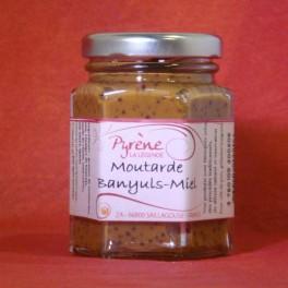 Moutarde Banyuls Miel 110 g